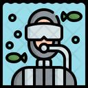 Diving Dive Scuba Icon