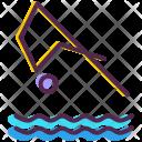 Diving Aquatics Olympics Icon