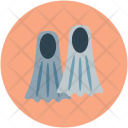 Diving Equipment Fins Icon