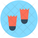 Diving Fins Swimming Icon