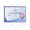 Diving Certificate Icon
