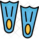 Diving Fins Icon