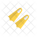 Fins Swimming Equipment Icon