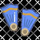 Diving Flipper Flipper Diving Icon