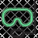 Diving Goggles Sea Beach Icon
