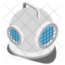 Diving Helmet Bathysphere Wet Suit Icon