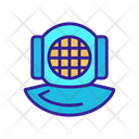 Diving Helmet Icon