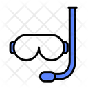 Diving Mask Diving Goggles Diving Equipment Icon