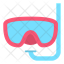 Diving Mask Diving Equipment Mask Icon