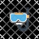 Scuba Diving Snorkel Icon