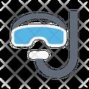 Scuba Snorkel Diving Icon