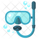 Dive Mask Water Icon