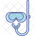 Diving Mask Scuba Mask Snorkelling Icon