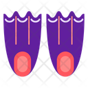 Diving Shoes Icon