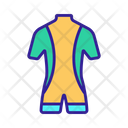 Diving Contour Costume Icon
