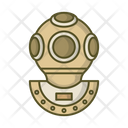 Diver Diving Suit Icon