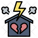 Argument Divorce Family Icon