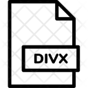 Divx Format File Icon