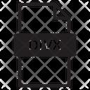 Divx Document File Icon