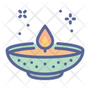 Ramadan Lamp Light Icon