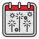 Firework Party Event Icon