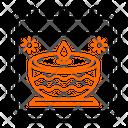 Diwali Hindu Calendar Icon