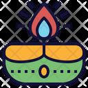 Diwali Lamp Depam Icon