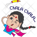 Diwali stickers Icon