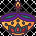 Diya Cultures Celebration Icon