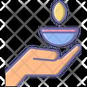 Deepavali Greeting Festival Icon