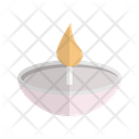 Diya Lamp Fire Icon