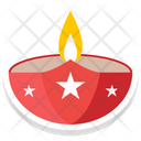 Fire Bowl Fire Pit Nature Icon