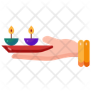 Candle Hinduism Festivity Icon