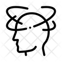 Head Dizziness Man Icon