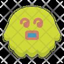 Dizzy Emoticon Emoji Icon