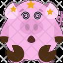 Dizzy Emoji Emoticon Icon