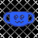 Dizzy Mask Virus Icon