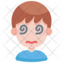 Dizzy Smilley Emoji Icon
