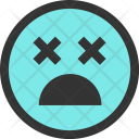 Dizzy Error Emoji Icon