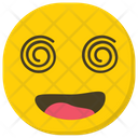 Dizzy Emoji Emoticon Spiral Eyes Icon