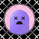 Dizzy Face Emoji Emoticon Icon