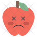 Dizzy Face Apple Icon