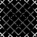 Dizzy Face Emoji Icon