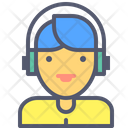 Dj Music Headphones Icon