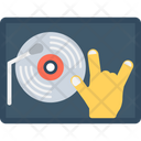 Music Player Dj Disc Jockey Icon