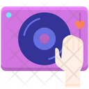 Dj Music Disk Disk Jokey Icon