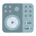 Dj Control Mixing Icon