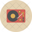 Dj Turntable Song Icon
