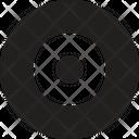 Cd Dj Turntable Icon