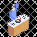 Dj Desk Icon